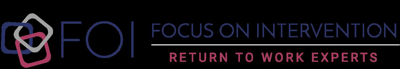 JOB ANALYSIS / JOB DESCRIPTION - Focus On Intervention - Return To ...